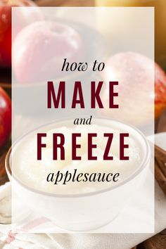 Step by step instructions on how to make and freeze homemade applesauce. by step instructions on how to make and freeze homemade applesauce. Step by step instructions on how to make and freeze homemade applesauce. How To Make Applesauce, Homemade Applesauce, Applesauce Recipes, Chef Recipes, Canning Recipes, Fruit Recipes, Vegetarian Recipes, Frugal Living Nw