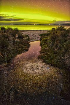 Aurora Australis - Mortimer Bay   Flickr - Photo Sharing!