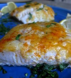 Baked Lemon Cod - What's Gaby Cooking