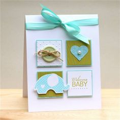Patchwork Baby by brierrose - Cards and Paper Crafts at Splitcoaststampers