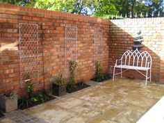 Handmade Brick Walls BRICK GALLERIES In the garden Pinterest