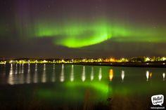 Spectacular Aurora Borealis show 11.9.2013 in Rovaniemi, Lapland, Finland!