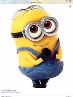 So minion so cute so me!