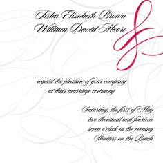 The Tisha - Invitation