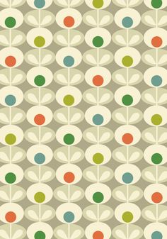ORLA KIELY - FLOWER OVAL