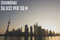 "Shanghai property average price per square meter (original image by ""Emile Bremmer"" via flickr)"