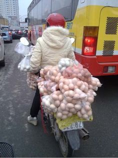 Egg transport - you are doing it right