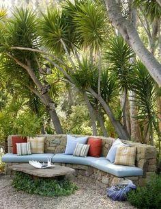 Bahçe Dekorasyonu Koltuk | Bunu Görmelisin |