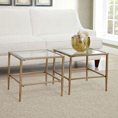 Wayfair Gold Side Table
