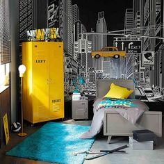 Se croire à Manhattan sans quitter sa chambre, un luxe offert par une déco stylée et bien pensée.