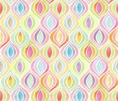 Bargello Flight Formation fabric by kayajoy on Spoonflower - custom fabric