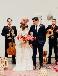 Culture + Color Collide in this Mexican-Inspired Wedding Editorial - Green Wedding Shoes Green Wedding, Wedding Colors, Wedding Styles, Bougainvillea Wedding, Mexican Themed Weddings, Mexican Wedding Dresses, Mexican Wedding Traditions, Vintage Mexican Wedding, Spanish Wedding