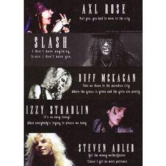 Lançado em 1987, Appetite for Destruction não obteve muito sucesso no início. Mas em agosto de 1988, o disco conquistou a América e ficou 52 semanas na primeira posição, vendendo mais de 5 milhões de cópias. No Reino Unido, o álbum estabeleceu um recorde como a gravação de mais sucesso da UK