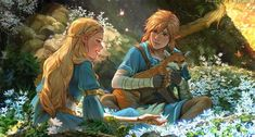 Legend Of Zelda Breath, Link Zelda, Breath Of The Wild, Pretty Art, All Art, Breathe, Princess Zelda, Clouds, Deviantart