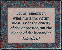 Elie Wiesel Quote Art