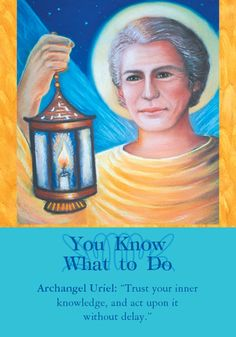 Oracle Card You Know What To Do | Doreen Virtue - Official Angel Therapy Website