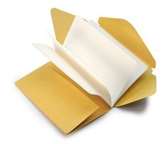 A notebook that turns into an envelope. Write, fold, mail. Genius. Inspiration For Travelers