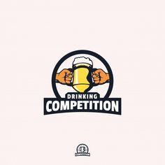 Logo Vintage, Vintage Party, Iron Games, Drinking, Competition, Logo Design, Collection, Beverage, Drink