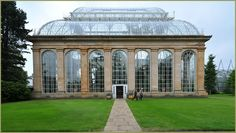 Royal Botanic Garden Palm House Scotland