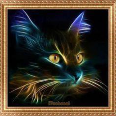 4.09AUD - Diy 5D Diamond Embroidery Painting Cat Cross Stitch Art Home Wall Decor Gift #ebay #Home & Garden