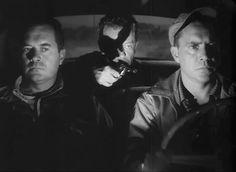 The Hitch-Hiker (Ida Lupino, Frank Lovejoy, William Talman and Edmund O'Brien Bogart And Bacall, Humphrey Bogart, Classic Film Noir, Classic Movies, She Movie, Film Movie, Female Directors, Fritz Lang, Orson Welles