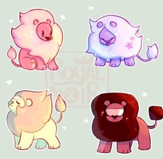 Some non-undertale art c: is my favorite character from Steven Universe, and gem lion fusions is like my next favorite thing Steven Universe Wallpaper, Steven Universe Español, Universe Art, Steven Universe Stickers, Steven Universe Drawing, Steven Universe Personajes, Desenhos Cartoon Network, Steven Univese, Rick Y Morty