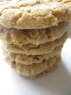 No butter, no flour peanut butter cookies!  substitute splenda for the sugar, and I've got a low carb cookie!!  Yippee!