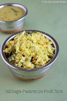 cabbage moongdal curry4 by prathy27, via Flickr