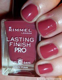 Rimmel London - English Rose  (my Easter nail polish choice ~ love it!)