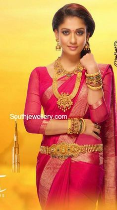 Nayanthara in GRT Jewellery Ad - Indian Jewellery Designs South Indian Actress Photo, Indian Actress Photos, Indian Actresses, Beautiful Girl Indian, Most Beautiful Indian Actress, Beautiful Saree, Divas, Saree Hairstyles, Indian Jewellery Design