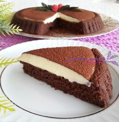10 Minuets : For more information, visit the post. Easy Cake Recipes, Dessert Recipes, Kitchen Recipes, Cooking Recipes, Mousse Au Chocolat Torte, Food Picks, No Bake Desserts, Chocolate, Bakery