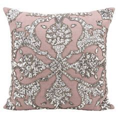 gray and pink pillows - Google Search