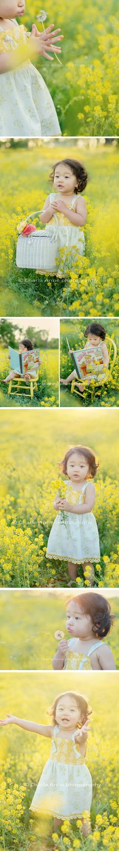 adorable little girl shoot