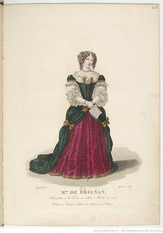 Françoise-Marguerite de Sévigné, comtesse de Grignan, fille de la Marquise de Sévigné