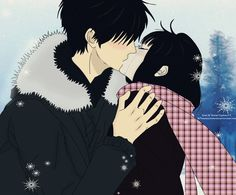Kimi Ni Todoke Kiss, why didn't they have this in the anime?!