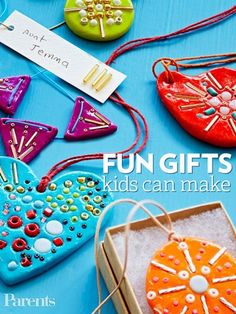 Surprise someone with a boho-inspired mosaic necklace your child can proudly say she made herself.                  Originally published in the December/January 2013 issue of FamilyFun magazine