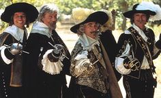 Dr Josephine Wilkinson: The Three Musketeers and d'Artagnan
