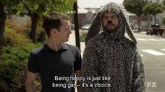 Hahahaha oh how I love Wilfred!