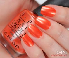 Love this orange #opi