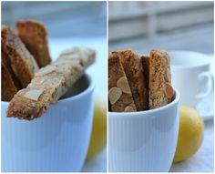 Sitron - Biscotti... Cake Cookies, Sugar Cookies, Biscotti, Sugar Free, Cereal, Gluten Free, Mint, Baking, Breakfast
