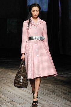 Prada Fall 2013 Ready-to-Wear Fashion Show - Sung Hee