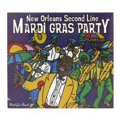 New Orleans Second Line Party Music CD