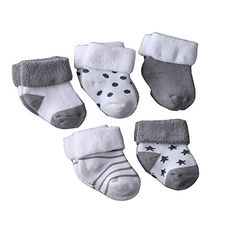 Evelin LEE Kids Unisex Baby Toddler Soft Socks 5 Pairs Crew Walkers Newborn Gift months, Style Organic cotton makes these socks soft and comfortable, keeping your little one's feet warm with a gentle touch. Cute Baby Boy Outfits, Baby Outfits Newborn, Newborn Gifts, Baby Necessities, Reborn Baby Dolls, Baby Socks, Baby & Toddler Clothing, Unisex Baby, New Baby Products