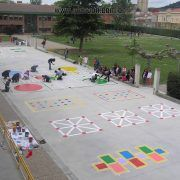 Playground painting ideas - Aluno On Preschool Playground, Playground Games, Outdoor Education, Outdoor Learning, Backyard Games, Outdoor Games, Playground Painting, Outside Games, Outdoor Play Spaces