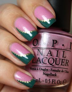 Pinned by www.SimpleNailArtTips.com FRENCH MANICURE NAIL ART DESIGN IDEAS -  Funky french