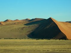 #Namibia, #Sossusvlei, view from Dune 41, #Africa, #travel