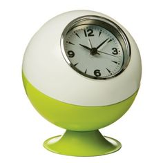 Kitchen Wall Clock: Retro Wall Clock , Mine was bright purple, or pinky purple with a bigger clockface and theredor probably a bigger item.. and was my bedroom clock from teenager until about my early thirties! Loved it.. plastic or not!