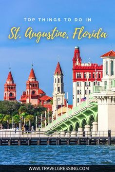 Here are 20 top things to do in St. Augustine, Florida in 2020 featuring tips on visiting historic landmarks, new attractions to see, free activities, thrilling experiences, accommodation recommendations, festivals to attend and more. *#StAugustine | St Augustine | St Augustine Travel | St Augustine Things To Do | St Augustine Vacation | St Augustine Weekend | What to do in St Augustine | St Augustine Attractions | St Augustine 2020 | Florida | Florida Travel