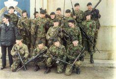 1 Platoon A Coy, 2nd RGJ. 1985