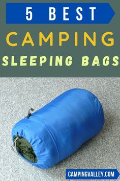 Are you looking for camping sleeping bags so you will sleep cozy in your tent or outside the tent? If so check these 5 best camping sleeping bags with different features. Choose summer camp sleeping bags and winter camping sleeping bags for the great outdoors. #campingsleepingbags #sleepingbagtips #wintersleepingbag #summersleepingbag #tentsleeping #outdoorsleeping